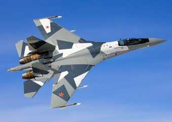 Bukti Su-35 mampu melihat pesawat F-22 Amerika di langit Suriah
