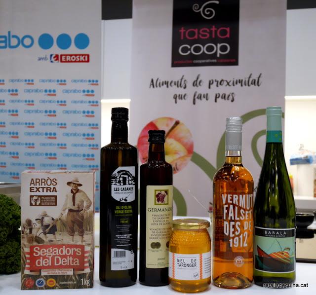 I Jornada de Cuina de Proximitat a Caprabo amb Productes de Cooperatives Agràries de Catalunya