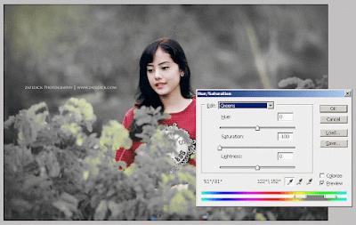 Cara Edit Foto Fokus Pada Satu Warna atau Objek di Photoshop