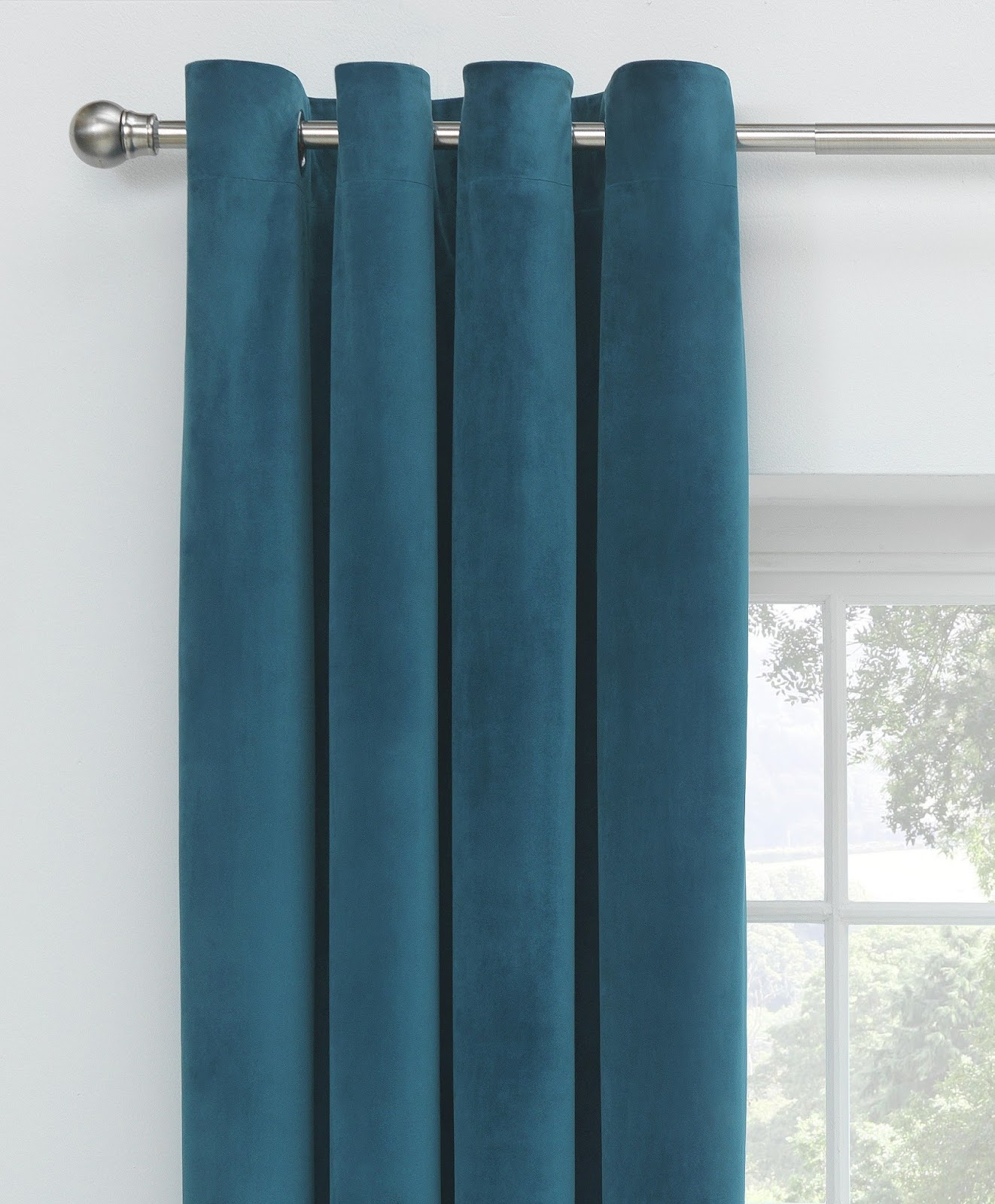 Blackout Insulated Curtains Patio Door Sheer Soundproof
