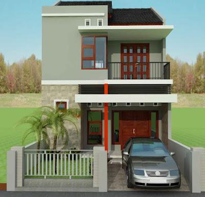 Konsep Rumah Minimalis 2 Lantai