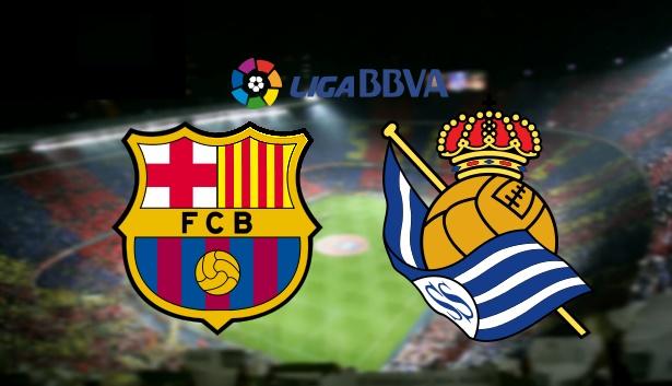نتيجة مباراة برشلونة وريال سوسيداد اليوم الأحد 27-11-2016, تعادل 1-1