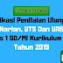 Aplikasi Penilaian Ulangan Harian, UTS Dan UAS Kelas 1 SD/MI Kurikulum 2013 Tahun 2019 - Ruang Lingkup Guru