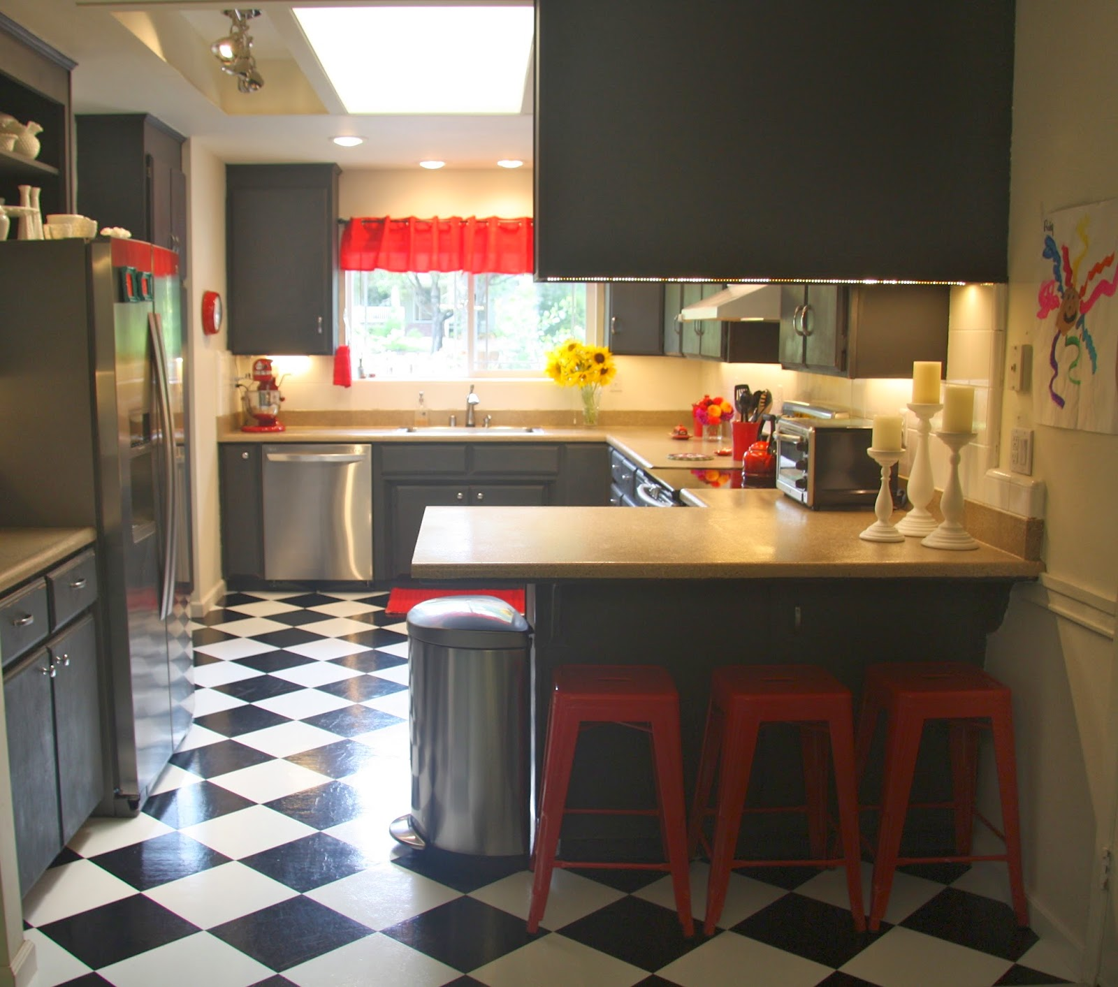 Leaving The Ivory Tower: Budget Kitchen Remodel