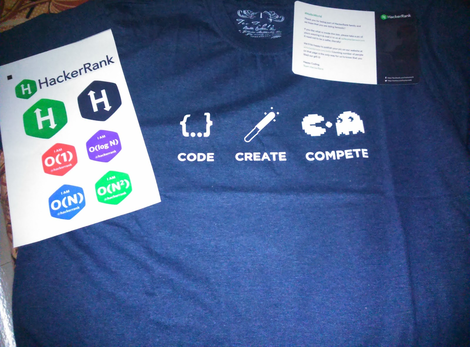 Story Of My First Swag- HackerRank