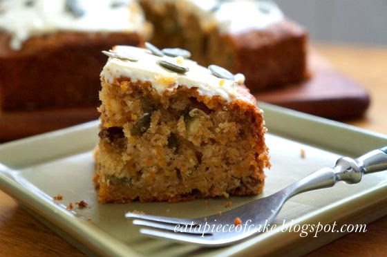 Sunflower Seeds Carrot Cake