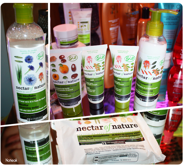 Les cosmétiques design paris Nectar of Nature Bio