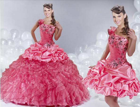 Vestidos De 15 Anos Modernos: Vestidos De XV Años Modernos Desmontables