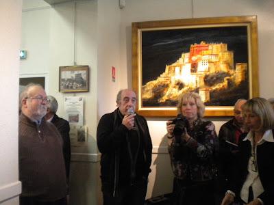 Inauguration : le Président de l'AAEENM et le Président du Musée
