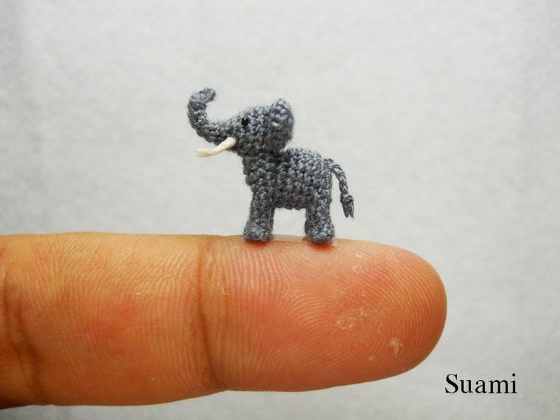 adorable tiny miniature crochet animals su ami-2