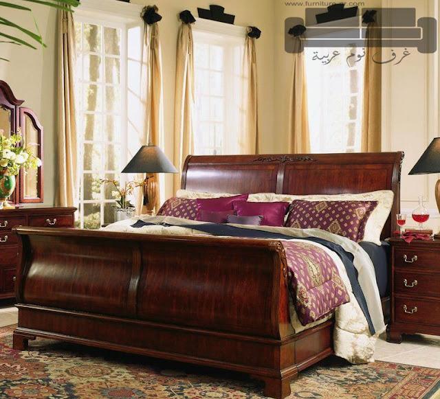 غرف نوم تركية كاملة 2016,غرفة نوم تركية كاملة للبيع, صناعة مصرية, غرف نوم كلاسيك بني