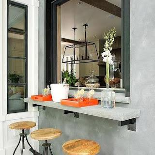Semplice Idea Di Design Per Ingrandire Una Cucina: La Cucina Pass-Through