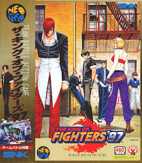 The King of Fighters 97+arcade+game+portable+retro+fighter+art+flyer