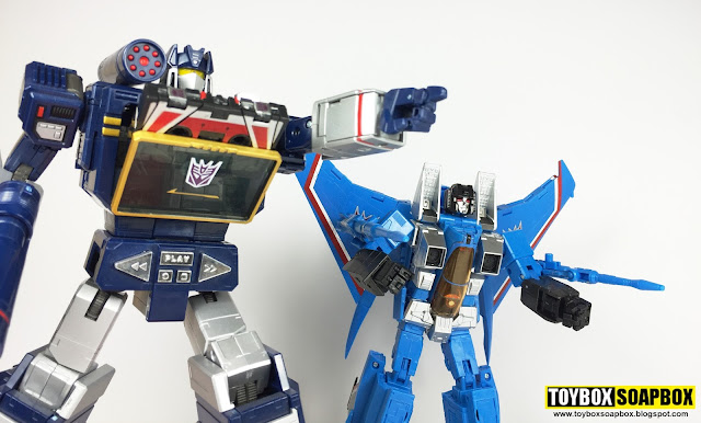 transformers masterpiece thundercracker and soundwave