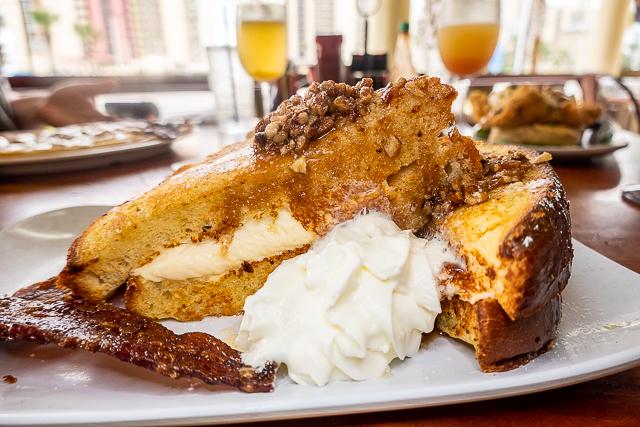 Pecan Stuffed French Toast from The Ruby Slipper  - Gulf Shores/Orange Beach, AL