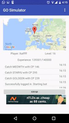 Go Simulator Apk Download (Android Bot Pokemon GO)