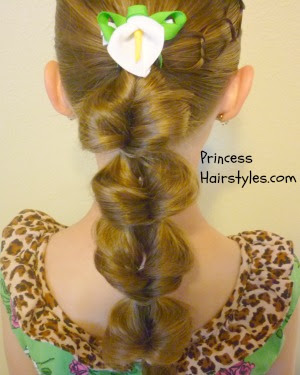 princess jasmine ponytail