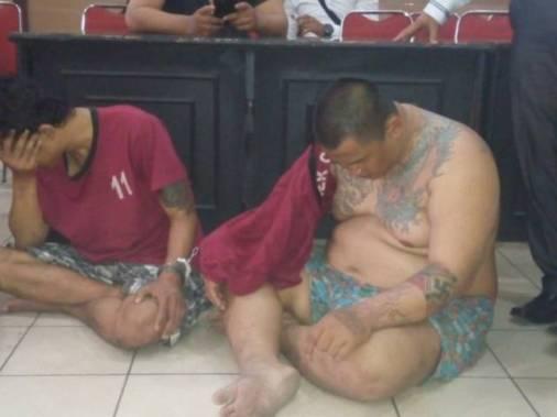 Brigez - Geng Motor Bandung saat ditangkap polisi