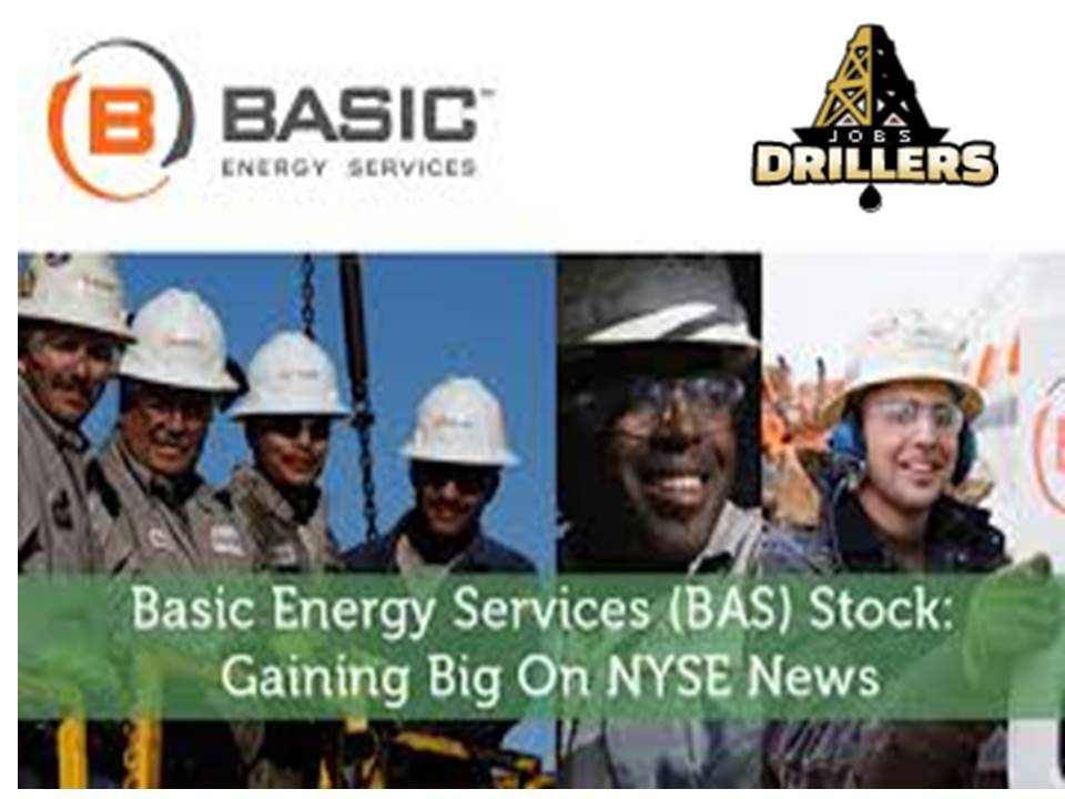 Job openings in ''basic energy services'' Company July 2018