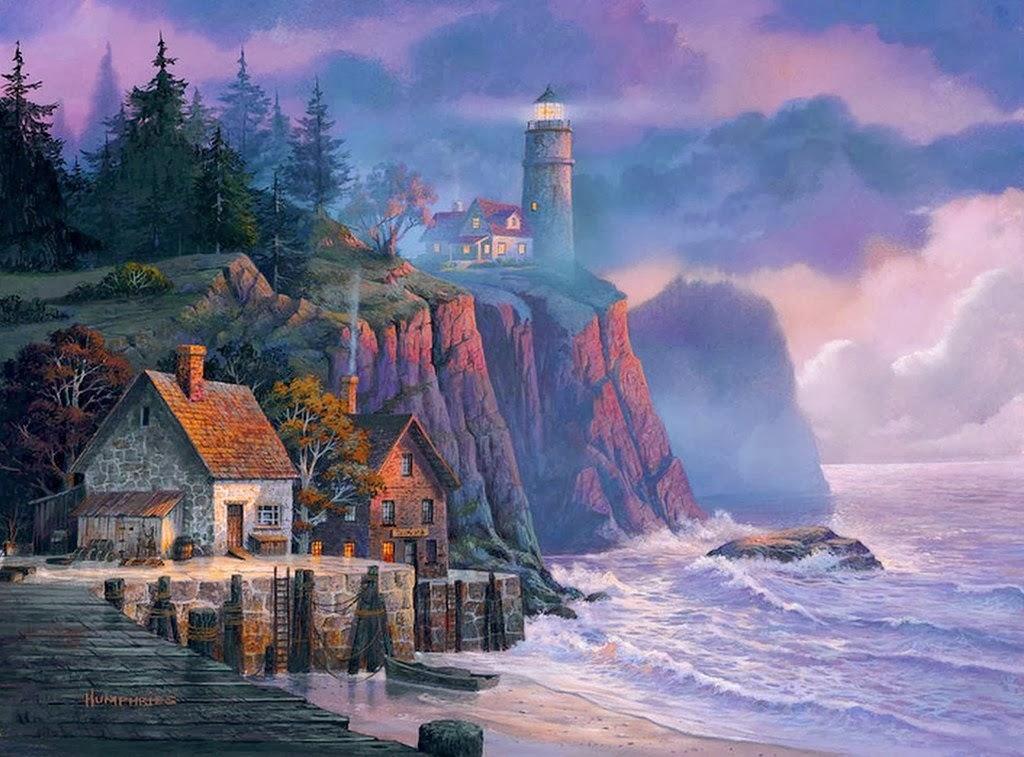 Cuadros modernos pinturas y dibujos oleos de paisajes - Los cuadros mas bonitos ...