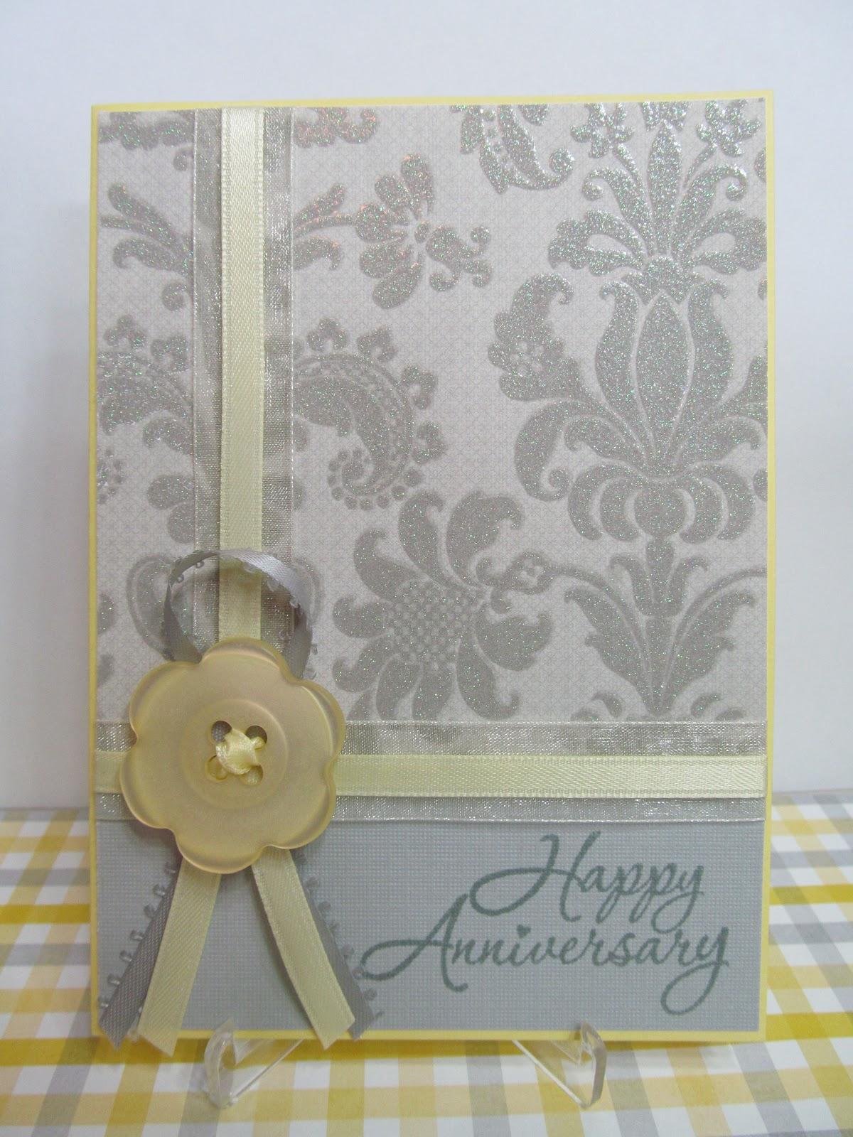 savvy handmade cards handmade anniversary card