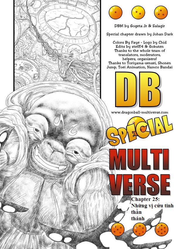 7 viên ngọc rồng - giải đấu giữa các ngân hà Chap 25 page 1