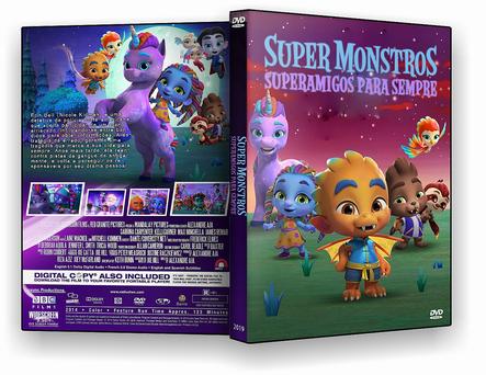 CAPA DVD – Super Monstros Superamigos para Sempre 2019 – ISO