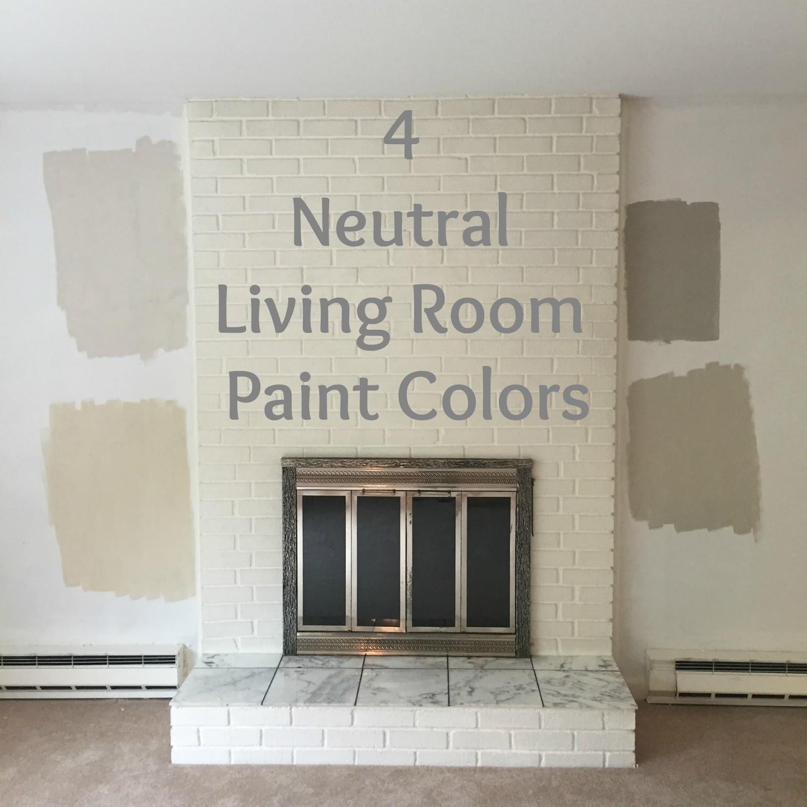 Drew Danielle Design: 4 Neutral Living Room Paint Colors