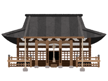 本能寺のイラスト