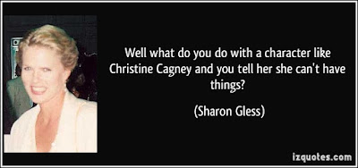 Love Quotes For Mother From Daughter:well what do with a character like Christine Cagney