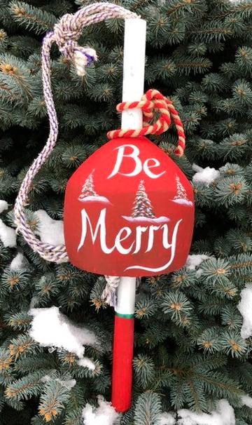 Merry Christmas Buoy