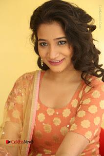 Telugu Actress Santoshi Sharma Latest Stills in Salwar Kameez at HBD Movie Teaser Launch  0057.JPG