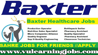 Baxter Healthcare Jobs