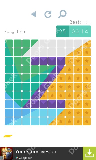 Cheats, Walkthrough for Blocks and Shapes Level 176
