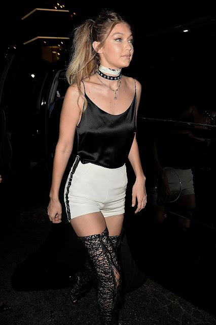 Fashion Model, Television Personality, @ Gigi Hadid At Her 21st Birthday Party In West Hollywood