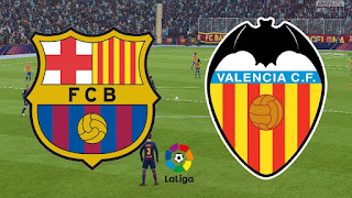 لعبة برشلونة فالنسيا مباشر بدون تقطيع