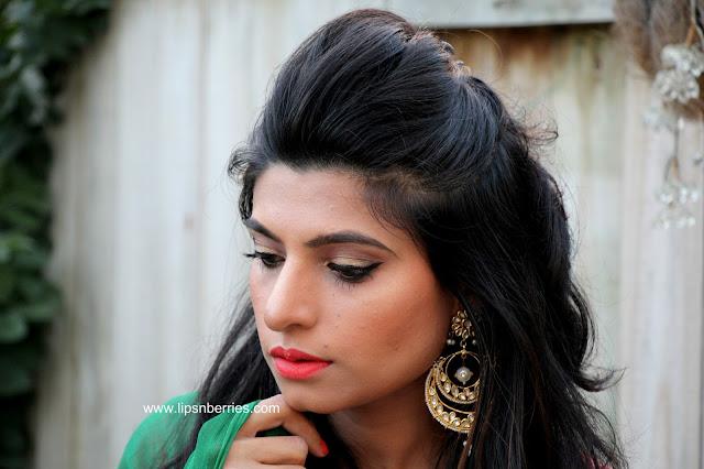 Indian wedding guest makeup
