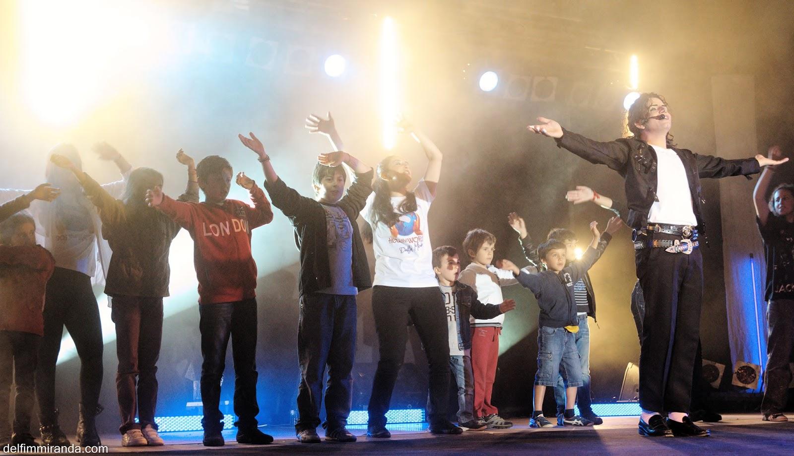 Delfim Miranda - Michael Jackson Tribute - Heal the World - Live on Stage