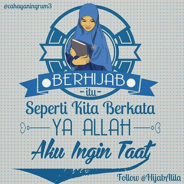 animasi kartun hijab alila hijab syari