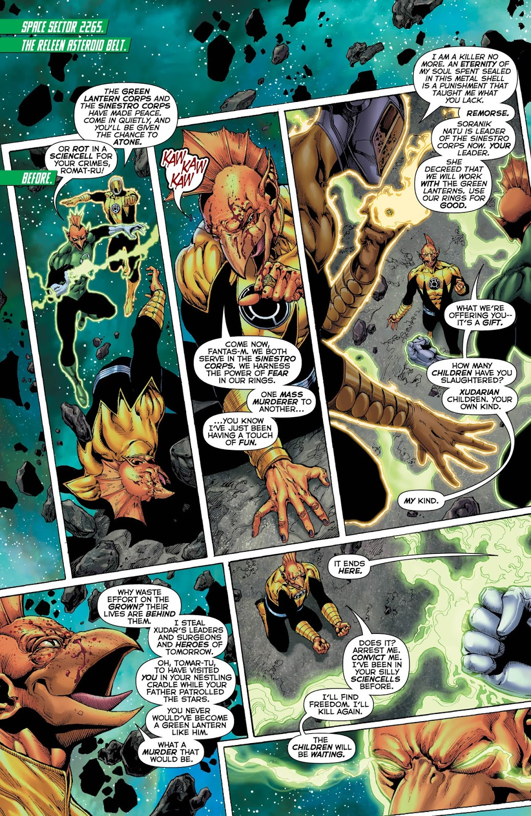 Weird Science Hal Dc And The Green Lantern Jordan Corps Comics Review 24 spoilers