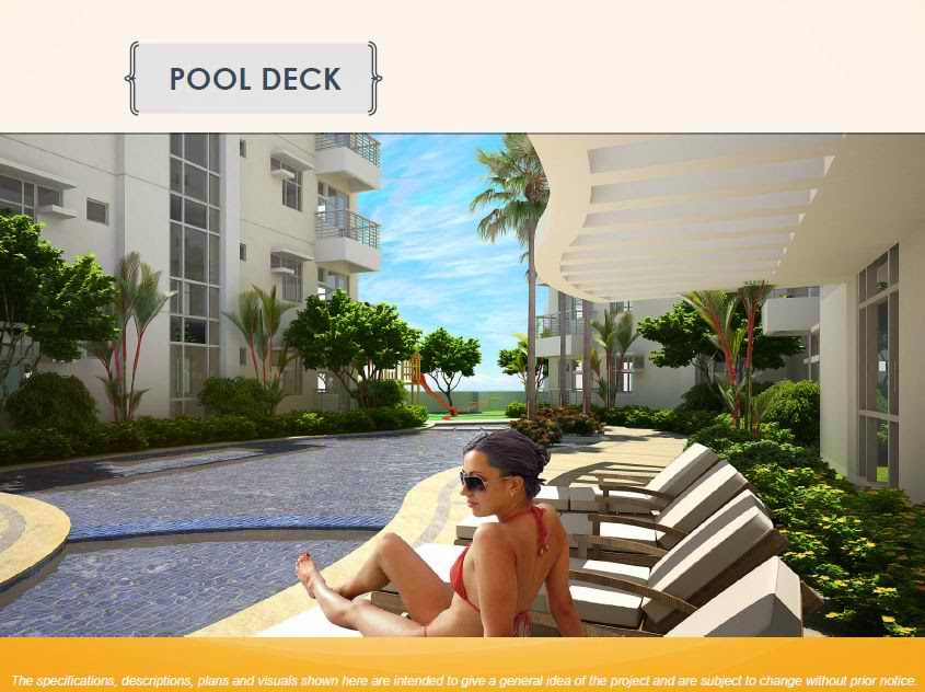 Solana Condominiums Pool Deck Section
