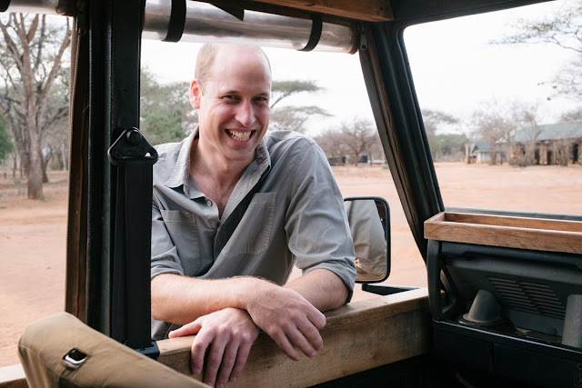 Książę William w Tanzanii i Kenii
