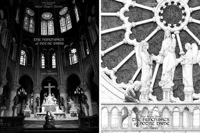 The Hunchback of Notre Dame Fine Art Giclee Prints by Gerhard x Dark Hall Mansion