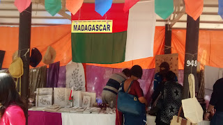 Handicrafts from Madagascar at Surajkund Crafts Fair