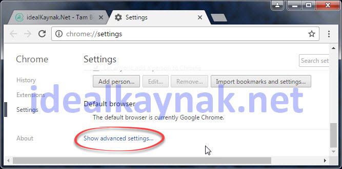 Google Chrome Dil Değiştirme - Google Chrome Türkçe Yapma