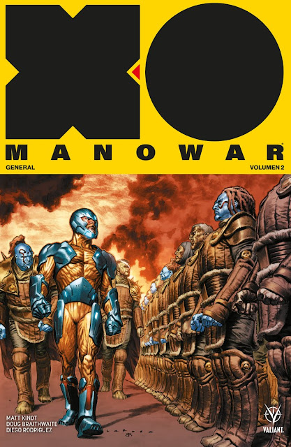 "Reseña de ""X-O Manowar"" vol.2 General, de Matt Kindt - Medusa Cómics"