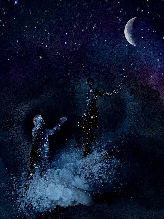 che il buio avvolge in modo surreale e trasporta lontano in un eterno senza  tempo. Noi incuranti di ogni regola. f82ca40e9fa1