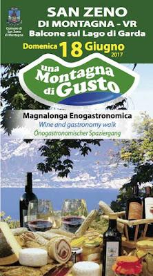 Una Montagna di Gusto 18 giugno San Zeno di Montagna (VR)
