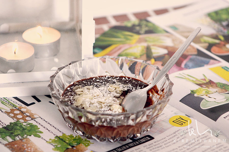 Ev Yapımı Çikolatalı Puding/Spangüle Tarifi