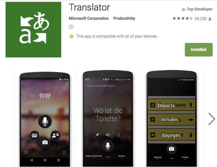English To Italian Translator Google: G Suite/Chromebook Blog: [Google Translate App Vs. MS